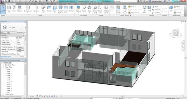 تعلّم برنامج RAVIT للتصميم الهندسي