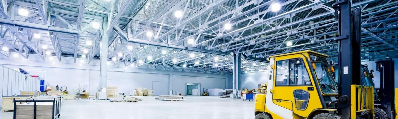 relamping eclairage industriel